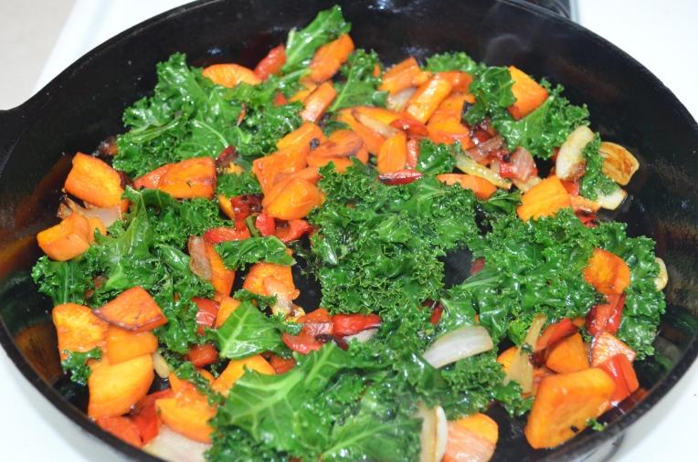 Sweet Potato & Kale Hash